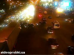 Car crash at 16 Moskovskyj Avenue (photo)