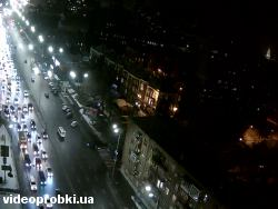 Car crash at Lesi Ukrainky Blvd, Verkhnya St (photo)