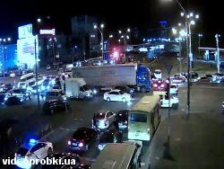 Car crash at 16-18 Moskovskyj Avenue (photo)