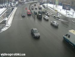 Car crash at Chokolivskyj Avenue - Umanska St. (photo)