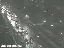 Car crash at Dorogizgytska St. - Melnikova St.  (photo)